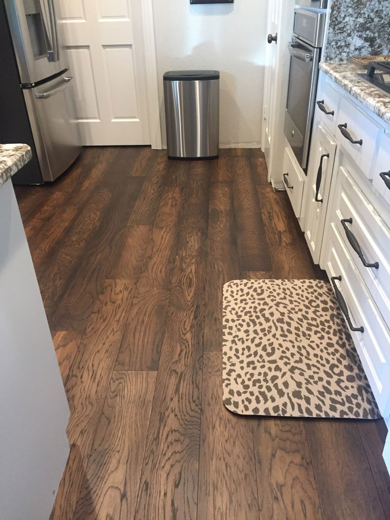 Dark Engineered Wood Install