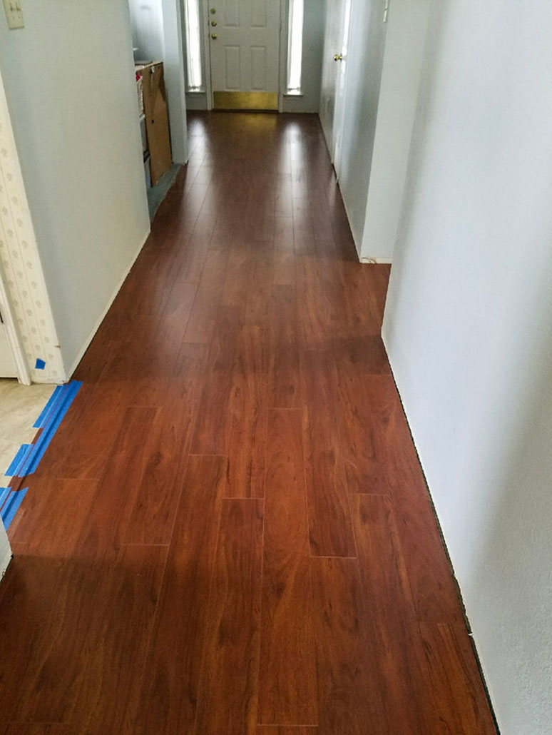 Engineered Wood in Kitchen
