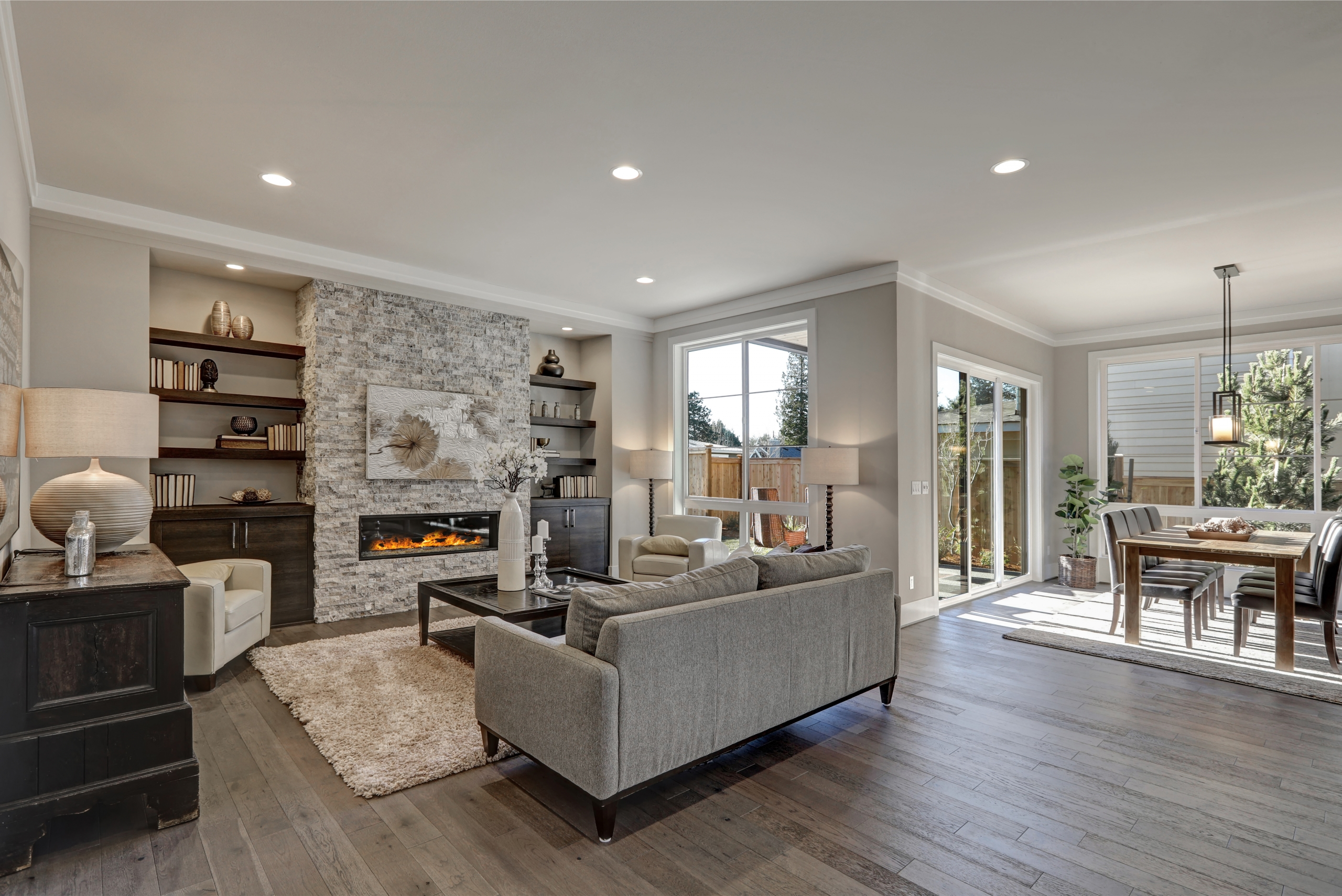 Are People Doing the Same Flooring Throughout Their House   JW ...